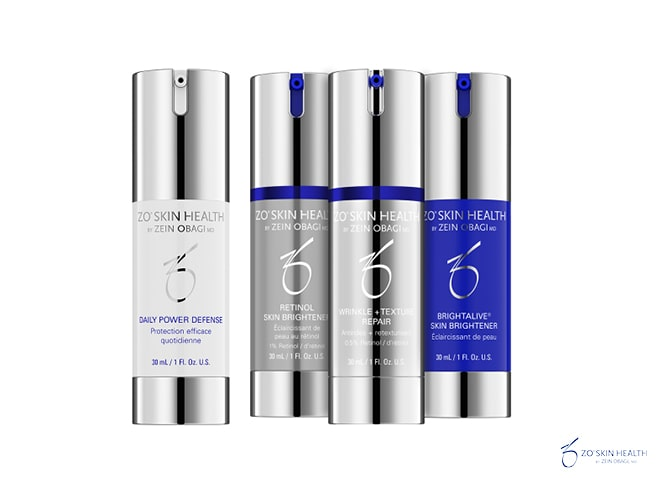 Dermamelius Kit Skin Brightening Program + Texture Repair Zo Skin Health 662x4784