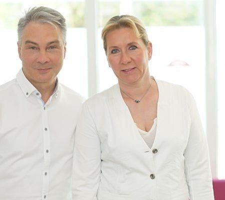 Dr. Katja David und Roland Fritsch Dermamelius Siegen